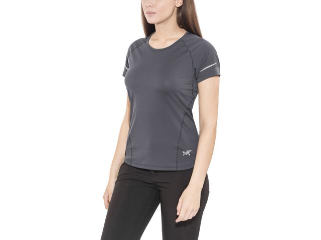 Arc'teryx Motus Crew SS Shirt Dame black sapphire